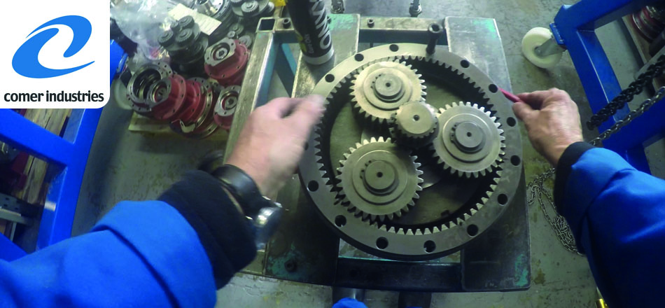 Comer Gearbox distributor HES Tractec