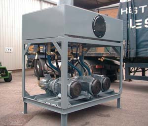 Hydraulics Steel Casting Line