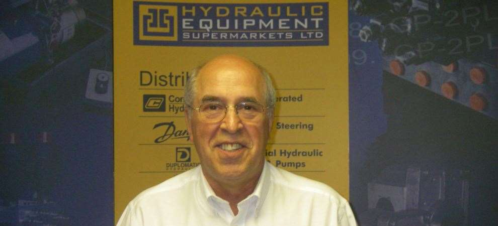 Picture of Our Duplomatic Product Manager, Mike Fortey, retires