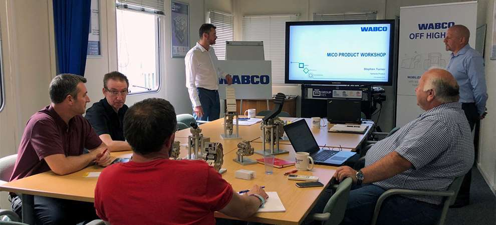 Picture of Off-highway systems training with WABCO